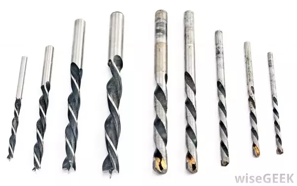 What Are Drill Bits Made Of Quora