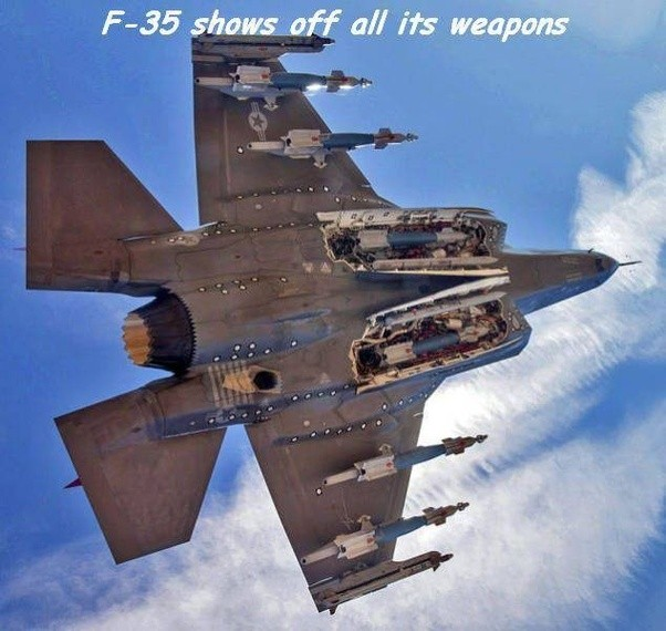 Can the F-35 internally carry ...