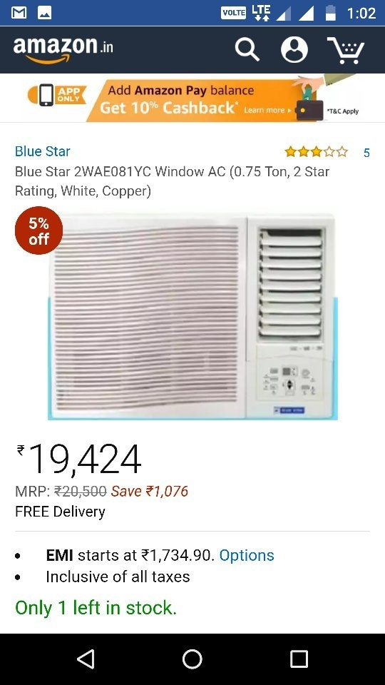 How to calculate air conditioner electricity use for 1 ton window ac power consumption per hour