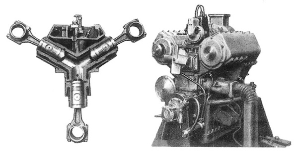 Not Sure If You Would It A Three Cylinder Or A Single Cylinder As They All Share The Same Combustion Chamber