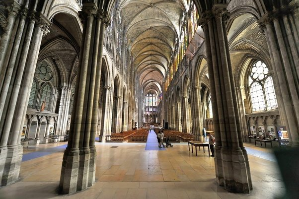 Builders Were Persuaded To Remodel Gothic Cathedrals Have As Much Light Possible This Also Was When Basilica Saint Denis Remodeled In 1144