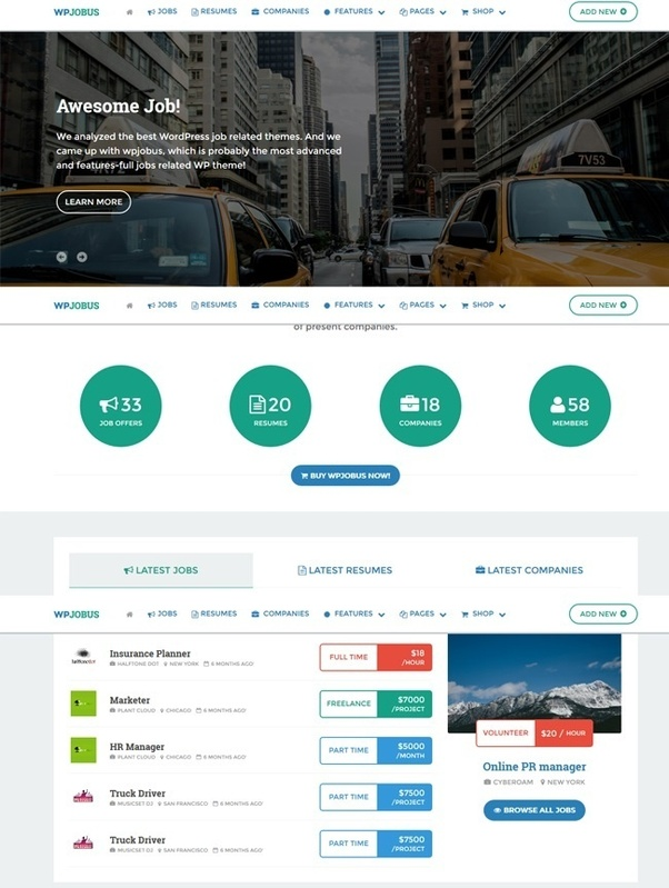 What Is The Best Wordpress Theme For Job Board Job Aggregator
