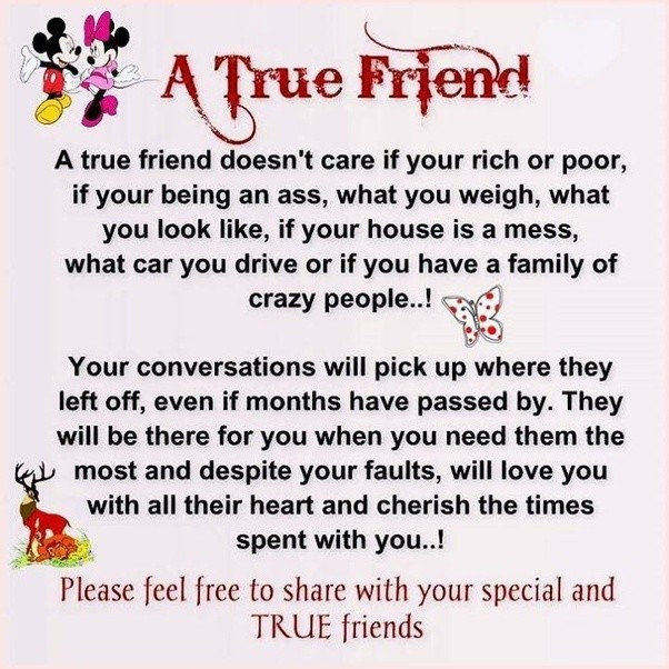 What Is The Correct Definition Of Friendship According To