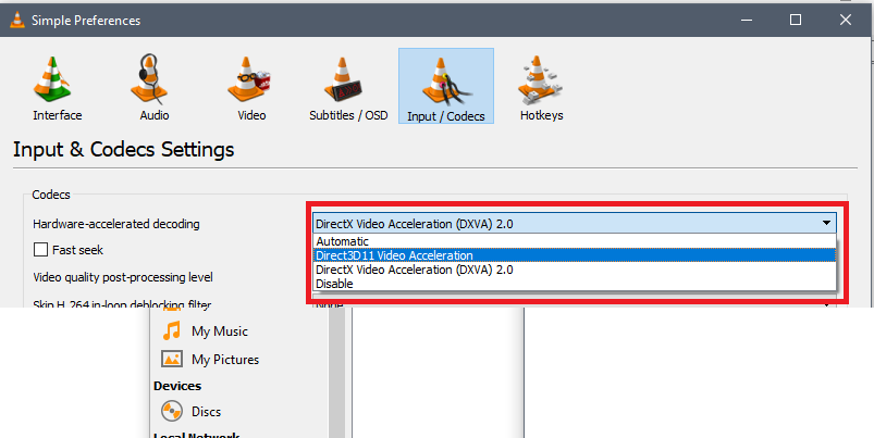 How to play an x265 HEVC 10-bit video on my 32-bit system