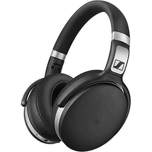 180e570e770 Sennheiser HD 4.50 BT NC Bluetooth Wireless Headphones (Black/Silver) with  Active Noise Cancellation