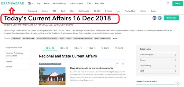 6 affairs last 2015 pdf month current
