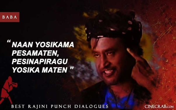 Which is the best Tamil punch dialogue of recent times? - Quora