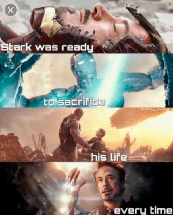 Why Did They Make Tony Stark Sacrifice When He Has Already