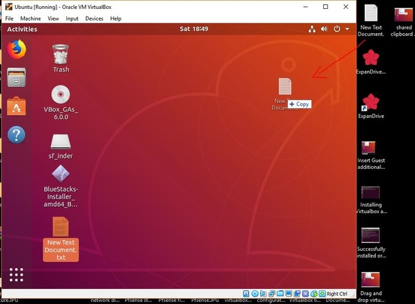 How to enable a VirtualBox drag and drop on Ubuntu - Quora
