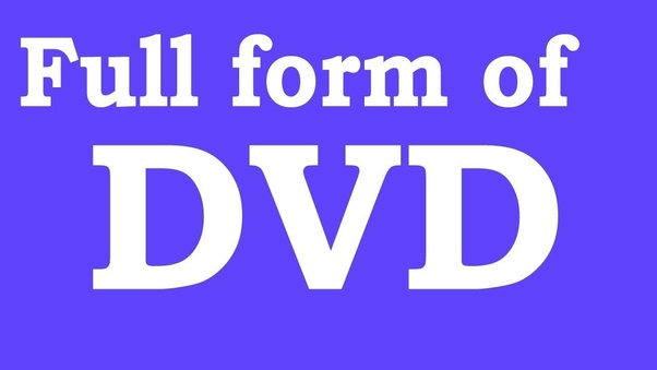 Image result for dvd full form