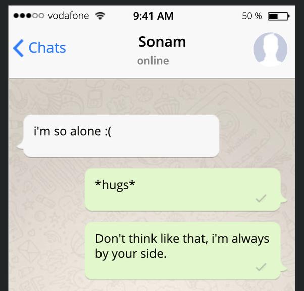 Text through a send hug 6 Text