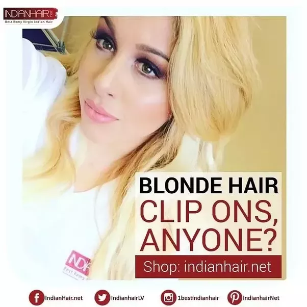 Where Can You Get Cheap Blonde Clip In Hair Extensions Quora