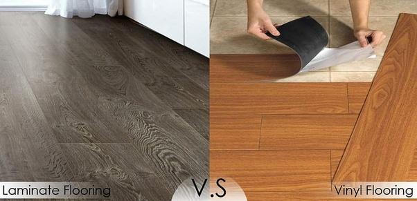 How Do Vinyl And Laminate Flooring Differ Quora