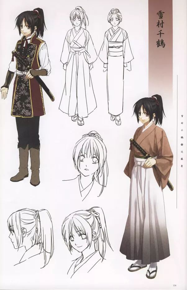 Simple Anime Character Design To Cosplay
