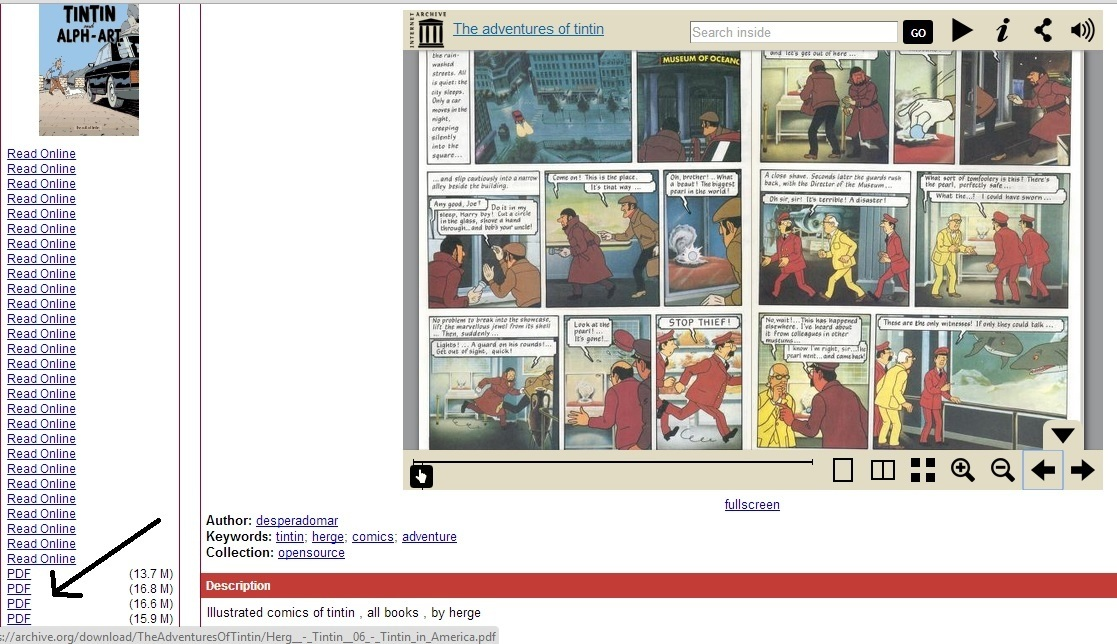 The art english pdf tintin in and alph