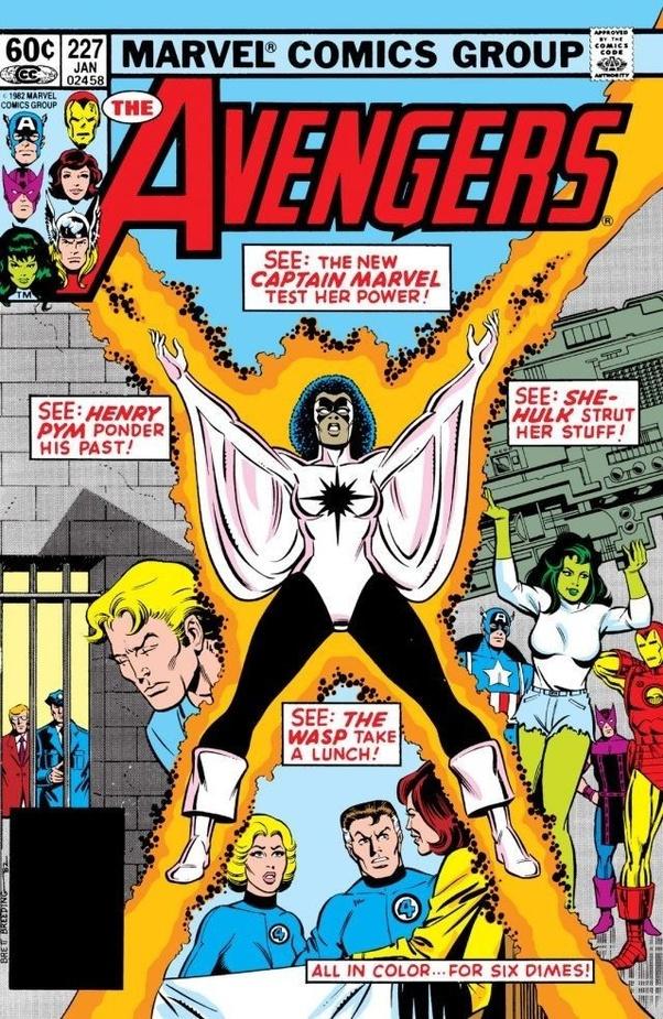 captain marvel in comics black