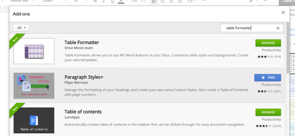 Do Google Docs Tables Have Something Similar To The Google Sheets - Google docs create own templates