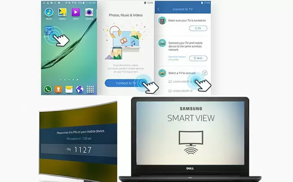 How to mirror my PC screen to a Samsung Smart TV ...