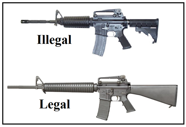 Is it possible to get the AR-15 rifle banned in all 50