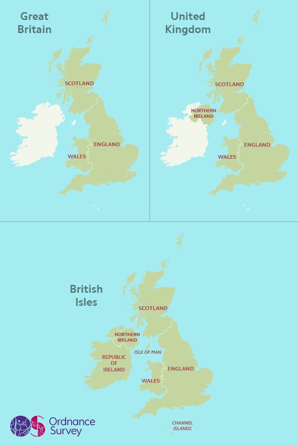 Map Of England Ireland Scotland And Wales.What Is The Difference Between England Wales Scotland Ireland