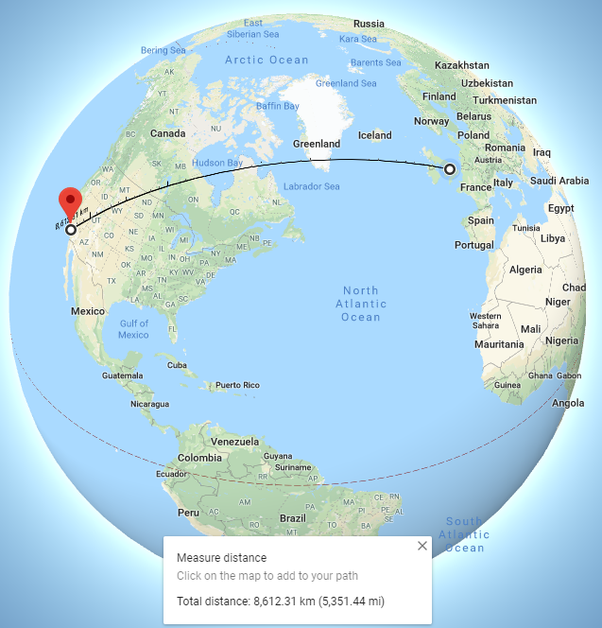 Is there a way to pin two locations on a Google map (so that