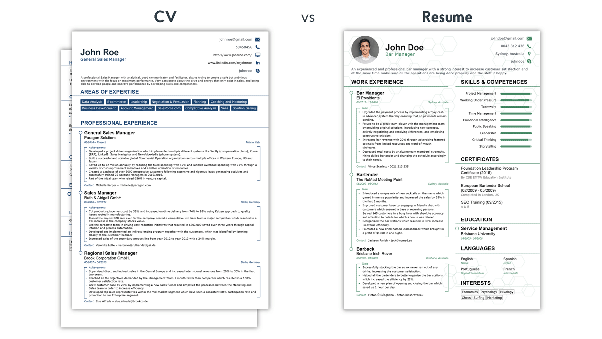 As a fresher, what will I write, a resume or a CV? - Quora