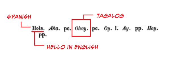 What is the Tagalog of the word 'hello' and 'hi'? - Quora