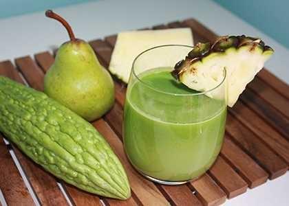 Do regular intake of bitter gourd juice enhances complexion