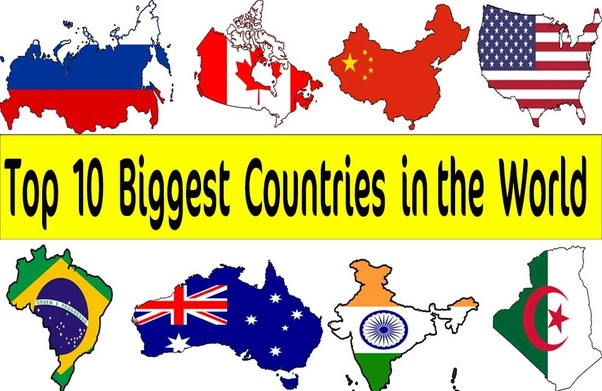 what are the top 10 biggest states
