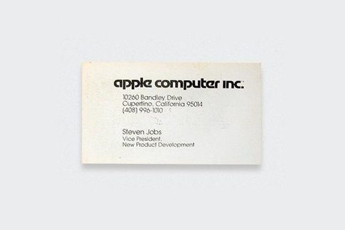 What do some top companies ceos business cards look like quora as vice president of apple in 1979 steve jobs took a direct clean approach to the design of company business cards reheart Gallery