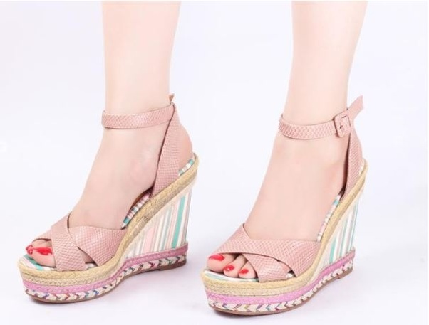 2a48a58bdc Buy Wedge High Heels Sandals Online Sale for Ladies and Girls
