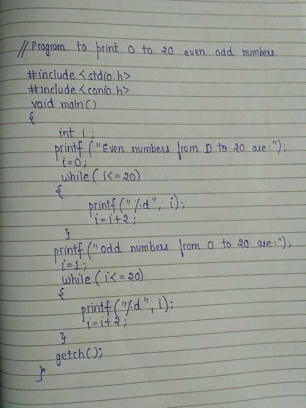 write a c program to print the sum of all odd numbers from 1 to 100