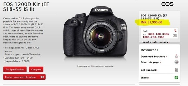 What is the best DSLR camera under 23000? - Quora