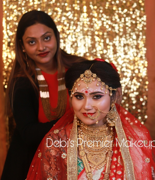 Based out of Ultadanga, Kolkata, Debi' Premier Makeup has hit the sweet spot between premium HD bridal makeup & affordability. Trained under the famous ...