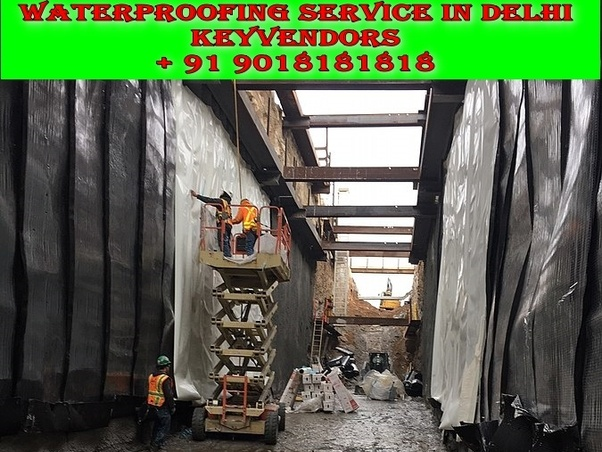 What is the best way to do a waterproofing of an old