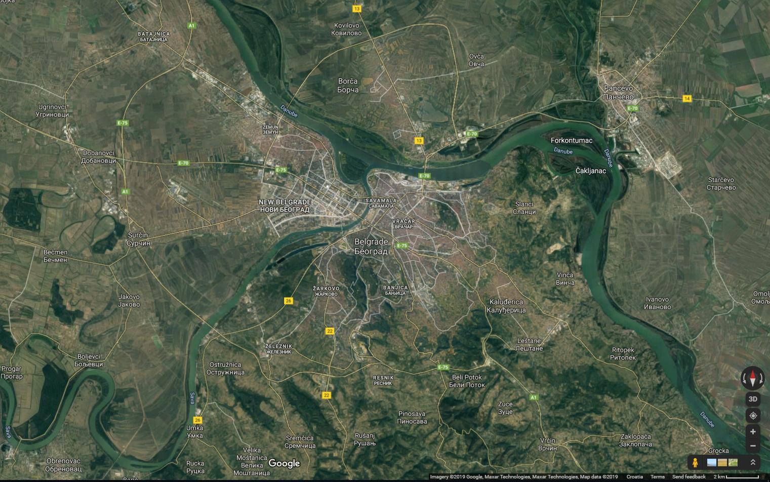 Is Zagreb City Bigger Than Belgrade City In Area Quora