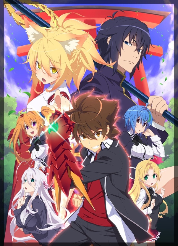 Ive Seen A Lot Of Battle Girl Harem Anime Out There And The Reason Why DxD Stands Most Is Simply Because Its Funny Cringey Has Some Decent
