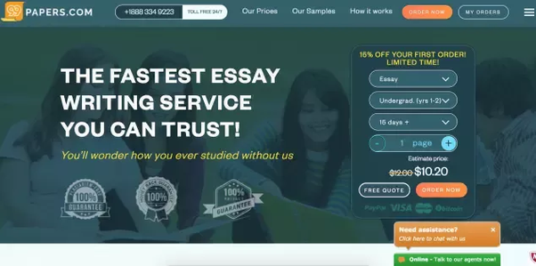 What are the best online essay writing services? - Quora