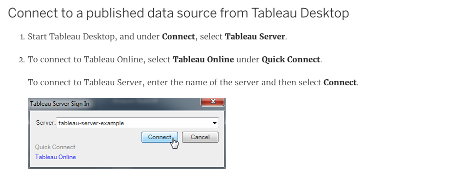 How to create an extract from Tableau server data source - Quora