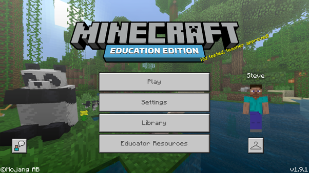 What Version Is The Minecraft Education Edition Quora