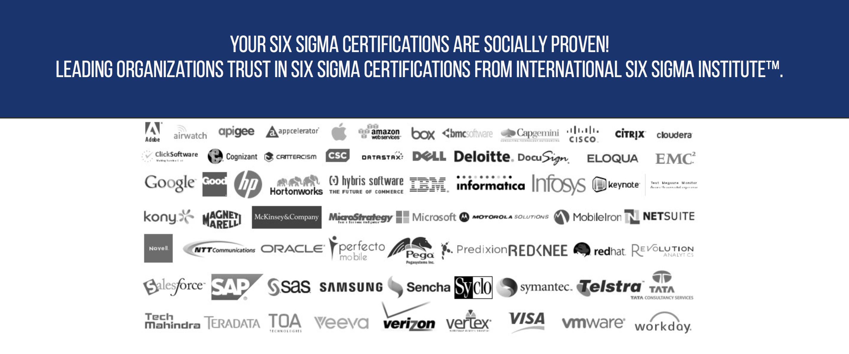 Why 6 Sigma Black Belt Certificate From International Six Sigma