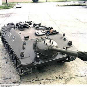Did WWII German tanks continue to be used in the German army