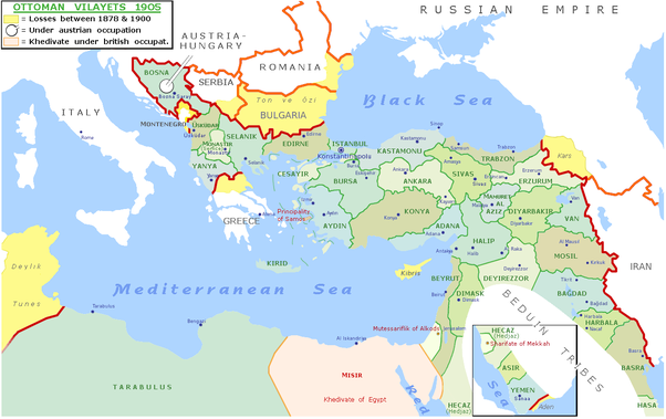 How did the Ottomans deal with the rising nationalism in the