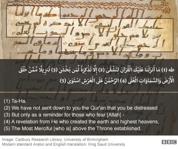 Birmingham Quran manuscript