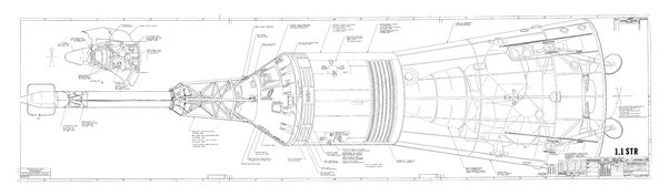Why did the Apollo 11 spacecraft separate the command and ...
