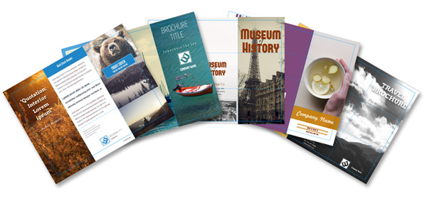 its a free easy to use web based design tool with some great travel brochure templates such as those below