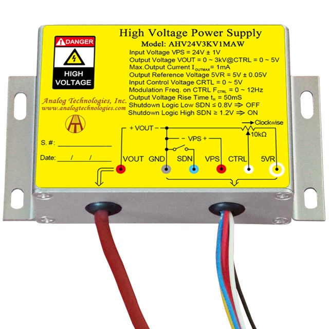 What household electronics contain a high voltage power