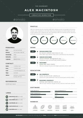 like - Resume Graphic Design