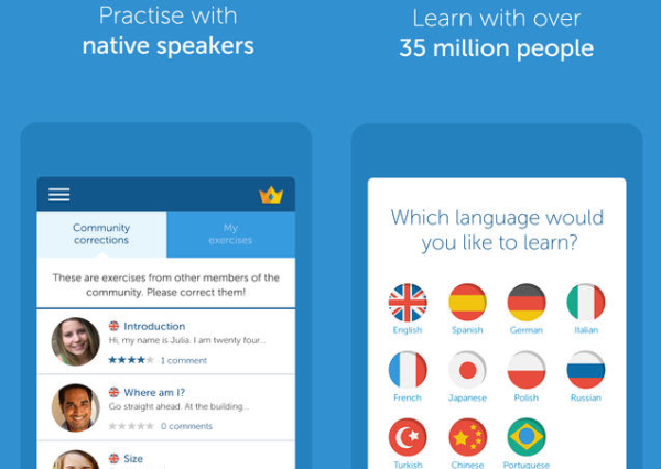 Download our free mobile apps and learn a language on the ...