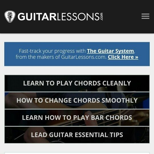 I Have No Free Time And Still I Want To Learn How To Play Guitar And